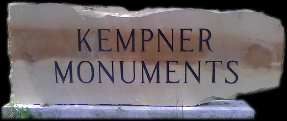 Kempner Monuments, Kempner Texas specializes in on-site cemetery lettering, monuments and headstones / www.kempnermonuments.com